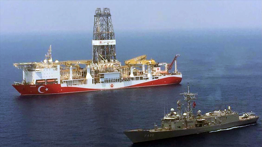 Turkey's drilling ships continue their Operations in Mediterranean Sea