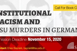 Call for Book Chapters: Institutional Racism and NSU Murders in Germany