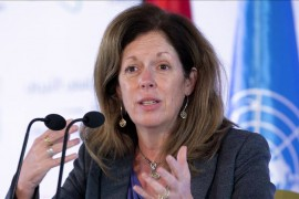Stephanie Turco Williams, Special Representative and Head of the United Nations Support Mission in Libya (UNSMIL).