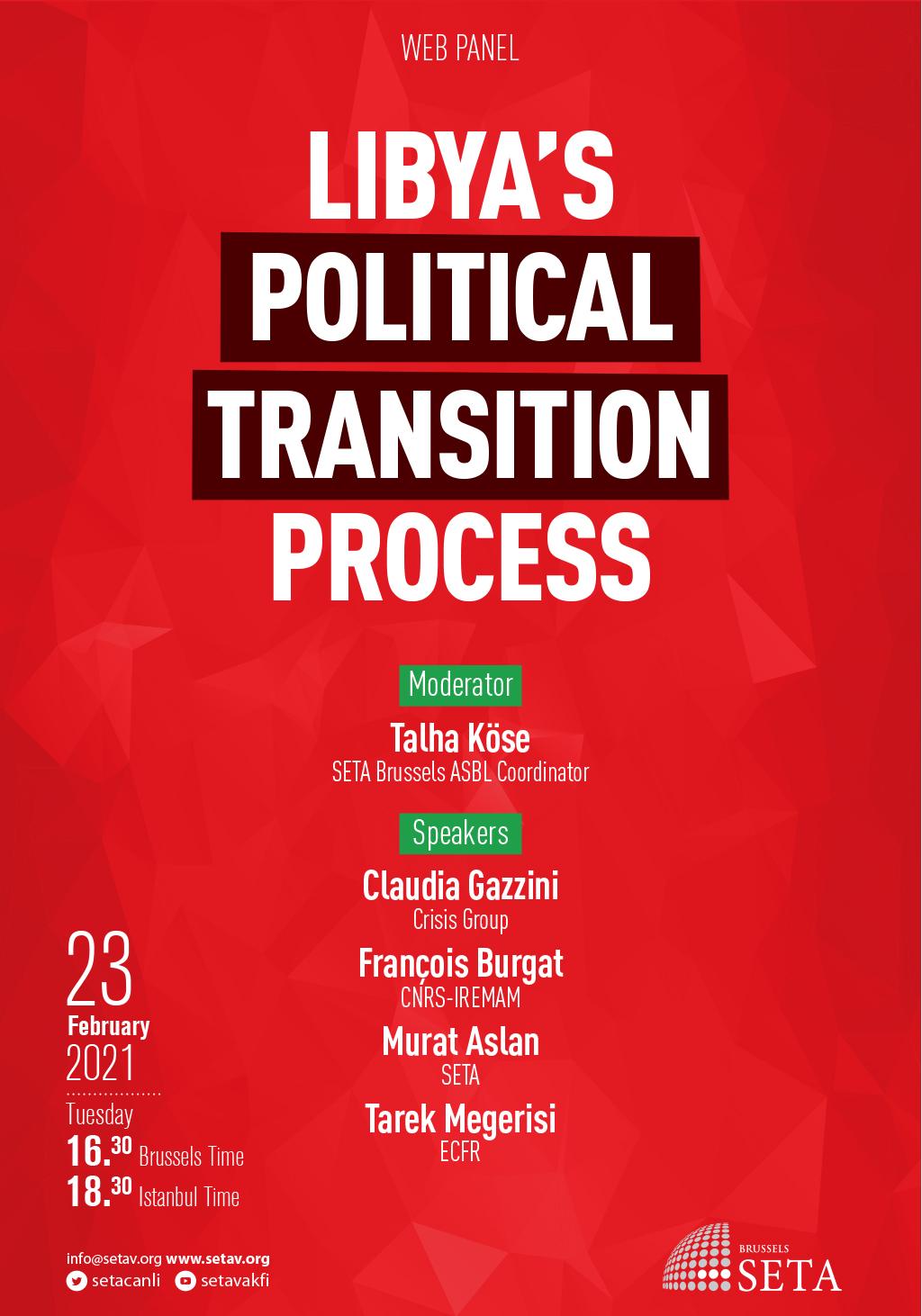 Web-Panel: Libya's Political Transition Process