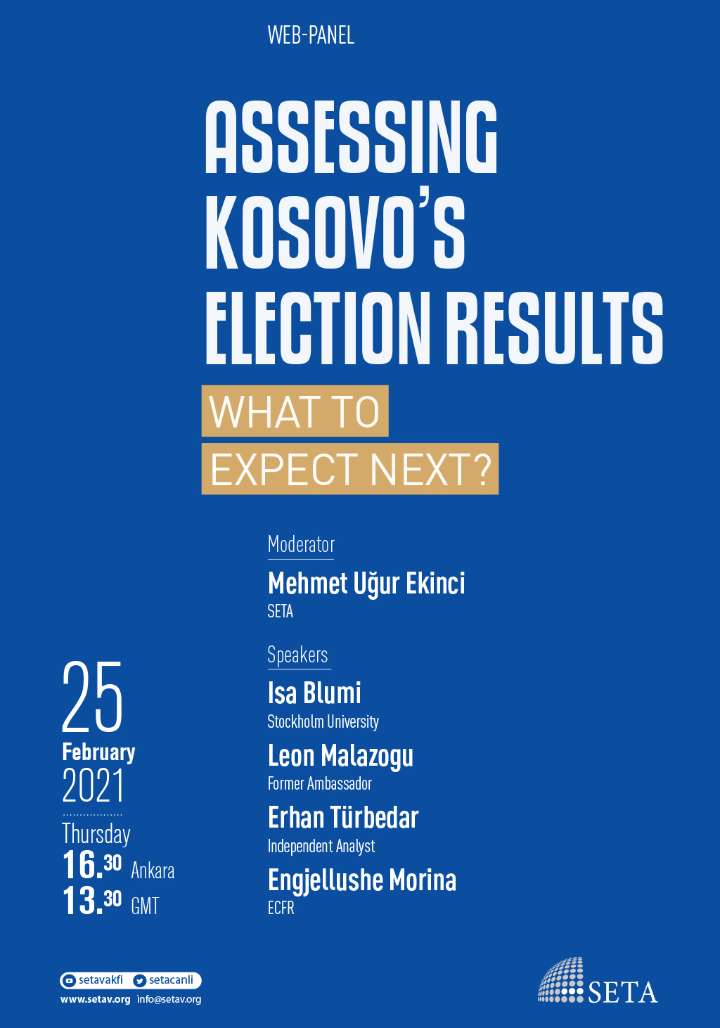 Web Panel: Assessing Kosovo's Election Results: What to Expect Next?