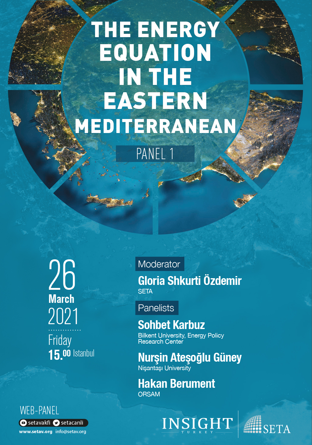 Web Panel: The Energy Equation in the Eastern Mediterranean (Panel 1)