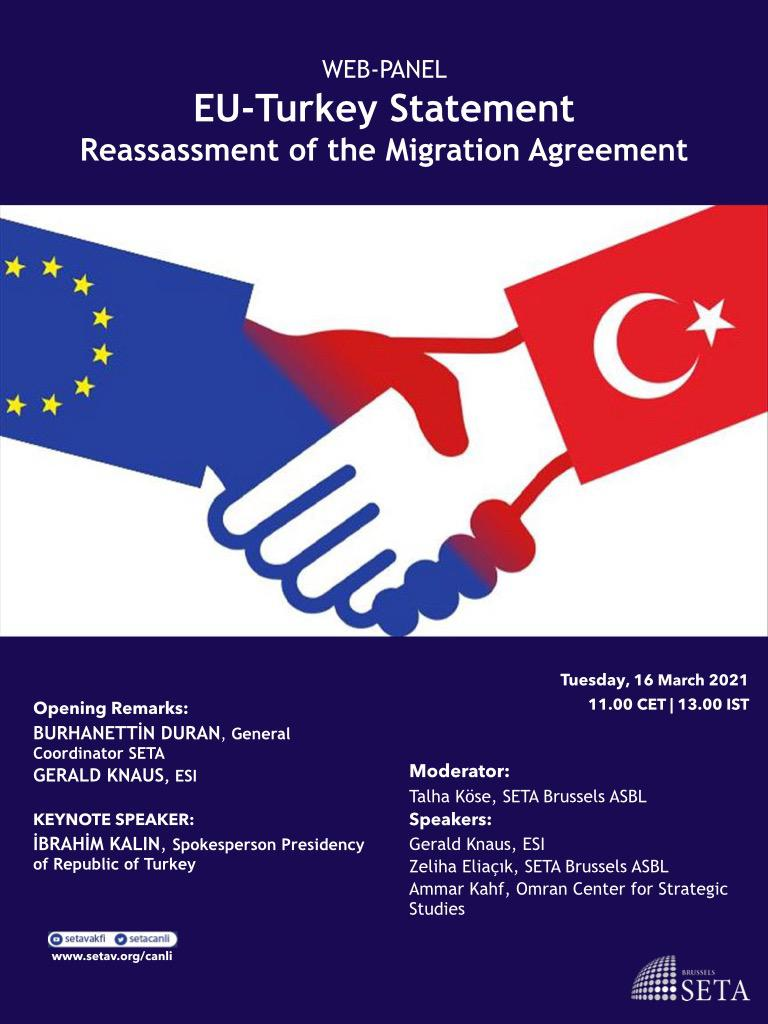 Web Panel: EU-Turkey Statement | Reassessment of the Migration Agreement