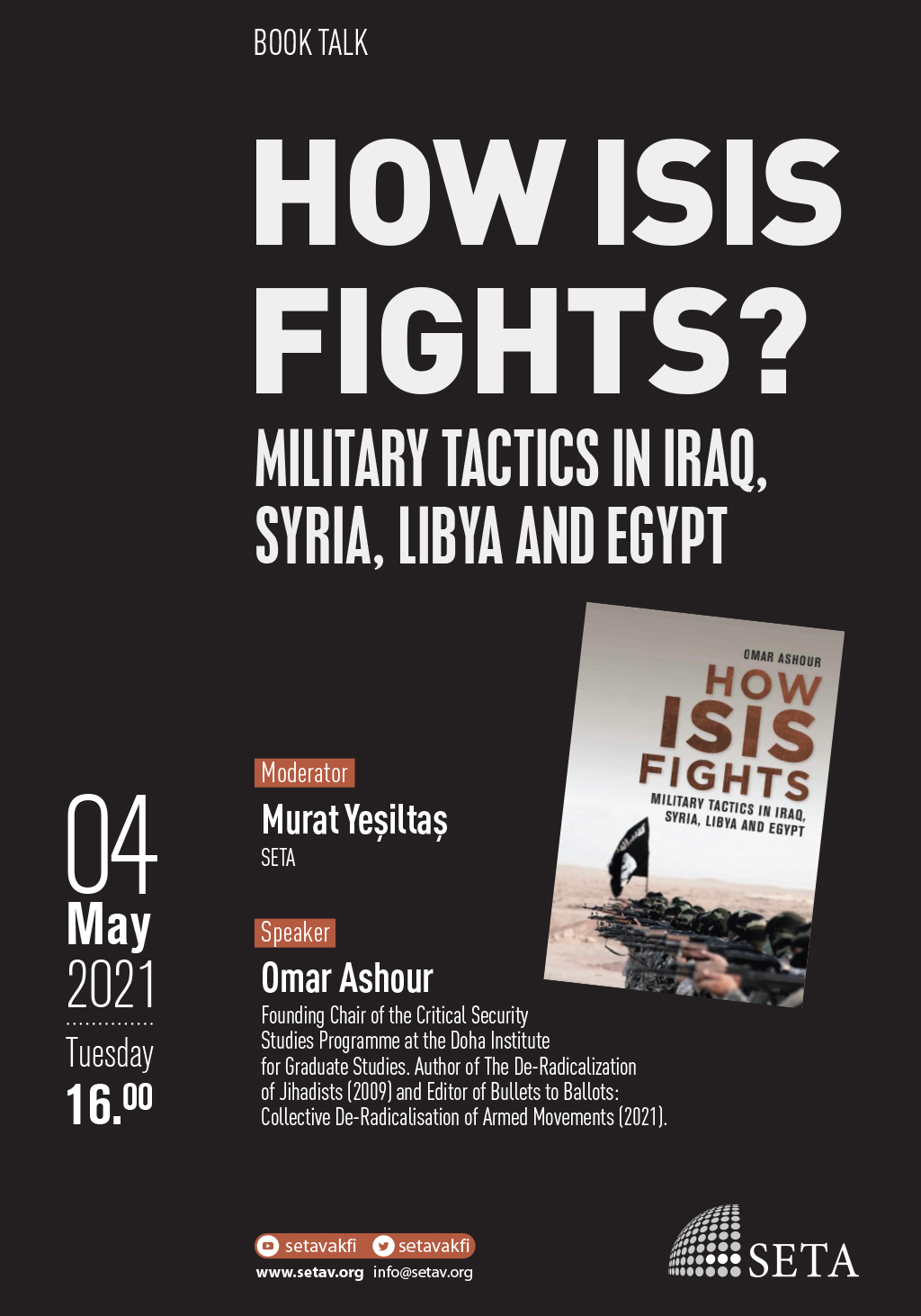 Book Talk: How ISIS Fights | Military Tactics in Iraq, Syria, Libya and Egypt