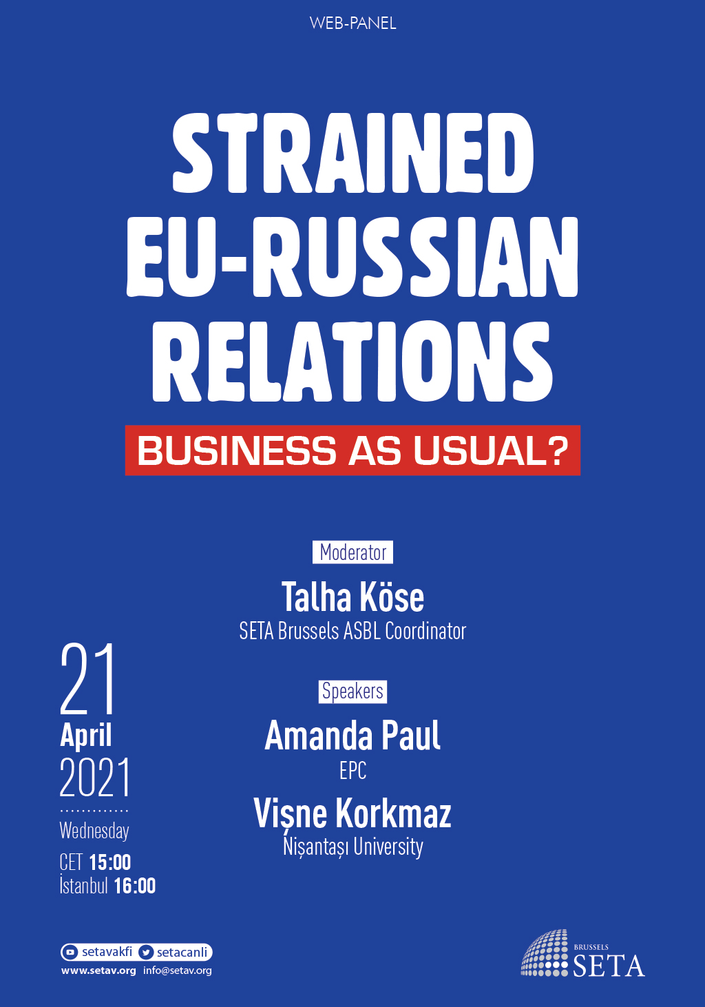 Web Panel: Strained EU-Russian Relations | Business as Usual?
