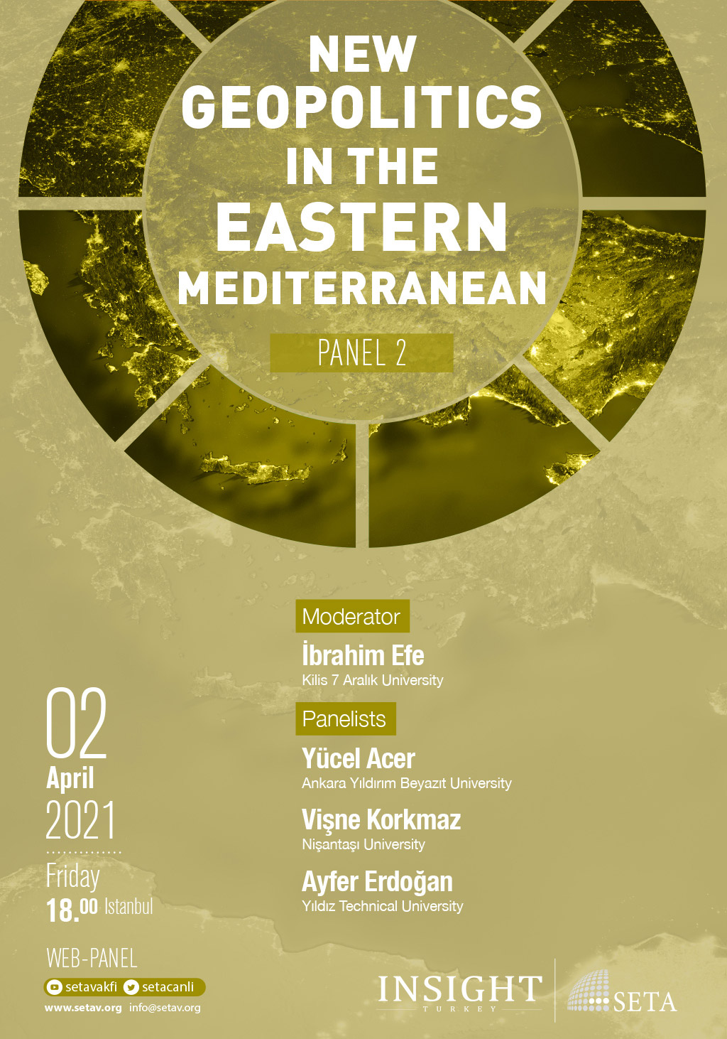 Web Panel: The Energy Equation in the Eastern Mediterranean (Panel 2)